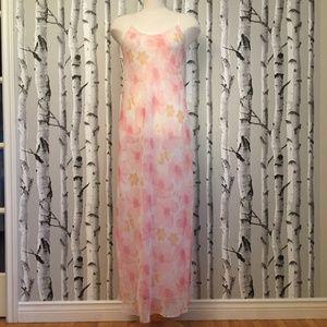Lord&Taylor  Chiffon Floral Print Nightgown